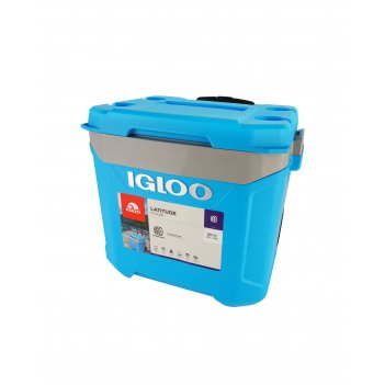 Изотермический контейнер igloo latitude 60 roller cyan blue