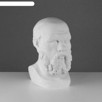 Гипсовая фигура голова сократа 20*20*38,5 см 10-103