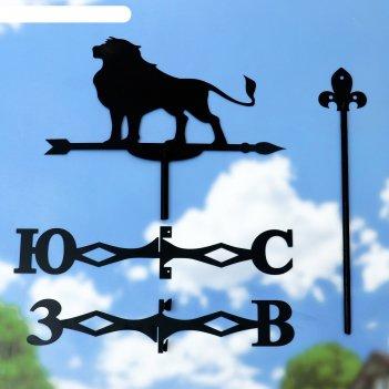 Флюгер лев - царь зверей,  53х40см