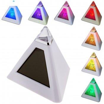 Часы-будильник пирамида (антистресс)