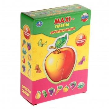 Макси-пазл «фрукты и овощи»