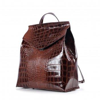 Рюкзак женский, натур.кожа, мод.13419 9с2350к45, цвет коричневый