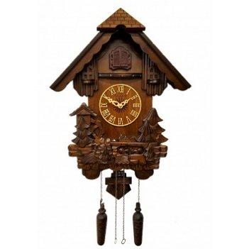 Настенные часы с кукушкой сq-013 водяная мельница-2