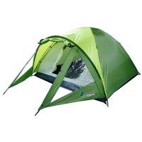 Палатка туристическая jovin 2 х-местная, ткань рипстоп