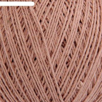 Нитки вязальные фиалка 225м/75гр 100% хлопок цвет 3302