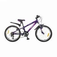 Велосипед 20 novatrack neon, цвет: фиолетовый, х52109-к