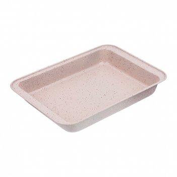 Форма для выпечки agness антипригарное покрытие 37,5*25,5*5 см, арктик (ко