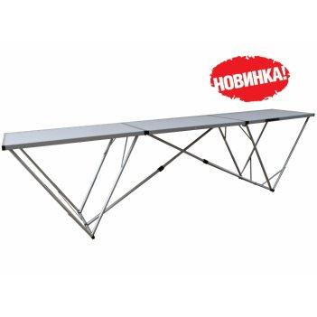 Tramp стол складной trf-007 298*60*80 см, алюминий