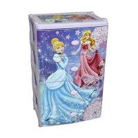 Комод для игрушек принцессы. дисней на колесиках, 4 выдвижных ящика