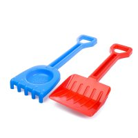Песочный набор: лопатка+ граьельки, большой