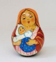 Неваляшка мать и дитя