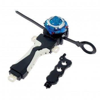 Волчок ultra spin pro, с устройством для запуска и ручкой, микс в пакете