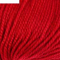 Пряжа nord 48% шерсть, 52% акрил 116м/110гр (4758 красный)