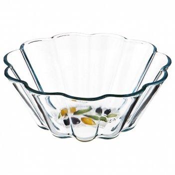 Форма для запекания оливки круглая 1,68 л диаметр=22 см высота=8,5 см (кор