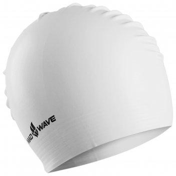 Шапочка для плавания латексная solid soft, , white m0565 02 0 02w