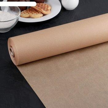 Бумага для выпечки, профессиональная 38 см х 100 м nordic eb golden, силик