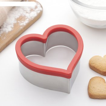 Форма для вырезания печенья сердце
