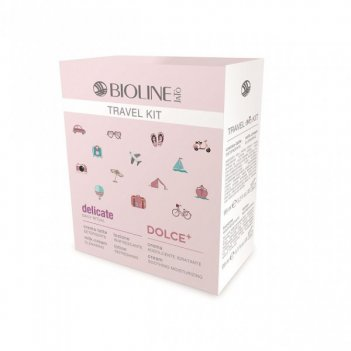 Дорожный набор для чувств-й кожи (delicate молочко99мл, лосьон 99мл, увлаж