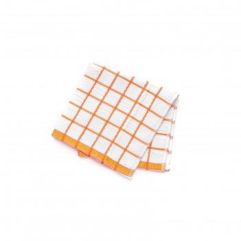 Салфетка-полотенце кухонное, микрофибра/хлопок, 52х52 см