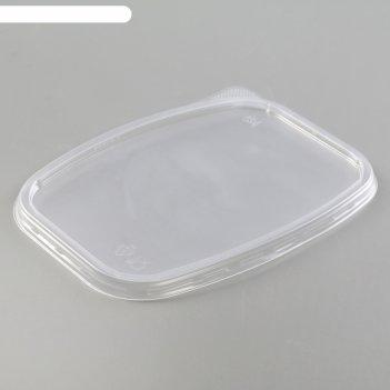 Крышка 11х8,5 см юпласт для среднего контейнера