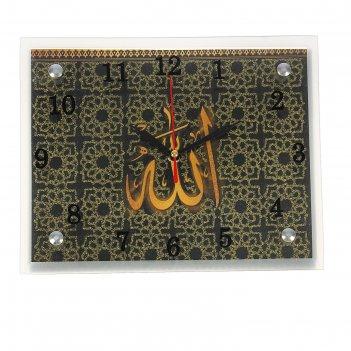 Часы настенные, серия: люди, мусульманские, 20х25  см, микс