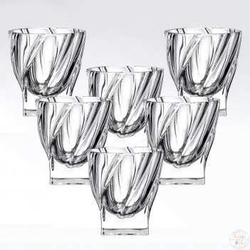 Набор стаканов 320 мл 6 шт gold crystal
