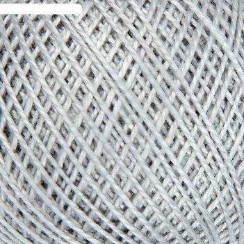 Нитки вязальные ирис 150м/25гр 100% мерсеризованный хлопок цвет 7002