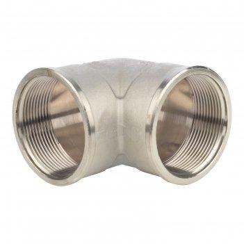 Угольник stout, никелированный, внутренняя/внутренняя резьба 2, sft-0014-0