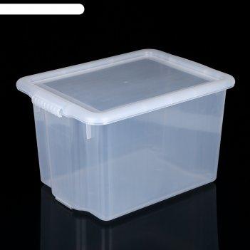 Контейнер porter 21 л, цвет прозрачный