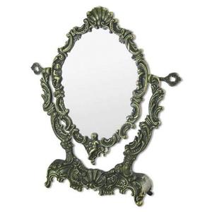 Зеркало настольное ракушка