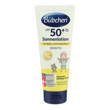 Молочко солнцезащитное bubchen для младенцев, фактор защиты 50+, с 12 мес.