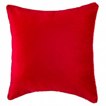 Декоративная подушка фьюжен,45*45 см, красный, 100%пэ