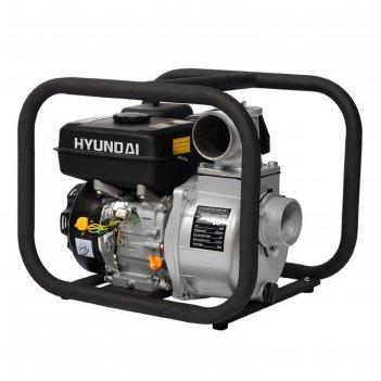 Мотопомпа бензиновая hyundai hy 80, 5.2 квт, 1000 л/мин, ручной стартер, д
