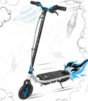 Электрический самокат (электросамокат) с мотором small rider rocket (синий