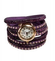 Y-ch031 браслет-часы радуга фиолет