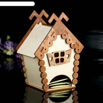 Чайный домик терем, 14x10x18,5 см