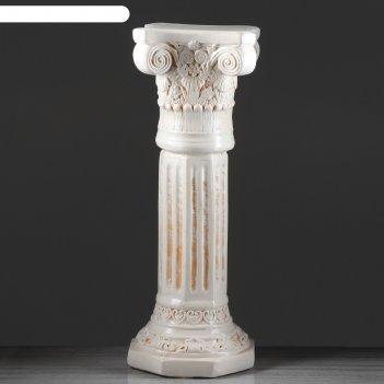 Колонна акрополь, высокая, состаренная, 80 см
