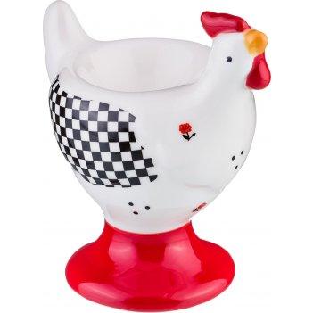 Подставка под яйцо веселый курятник 10,5*6,5*11 ...