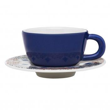 Чайная пара (чашка + блюдце) oxford 220 мл