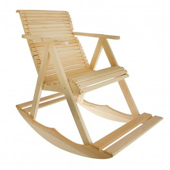Кресло-качалка 70х110х90см, липа добропаровъ