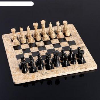 Шахматы «элит»,  доска 40х40 см, оникс