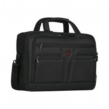 Портфель для ноутбука wenger 14-16, чёрный, 41x20x29 см, 18 л