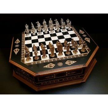 Шахматы подарочные империал венге антик