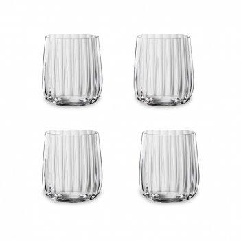 Набор из 4-х стаканов, объем: 340 мл, материал: хрустальное стекло, серия