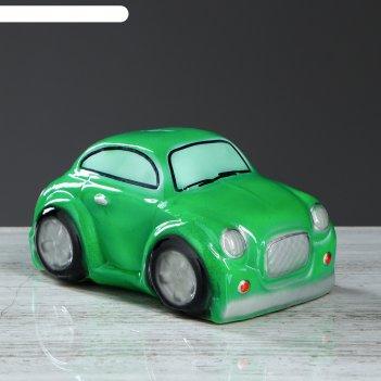 Копилка купер, цвет зелёный, 10 см