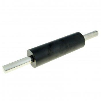 Скалка металлическая с тефлоновым покрытием рабочая поверхность 25 см