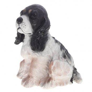 Фигура декоративная садовая собачка милька  l23w17h25 см