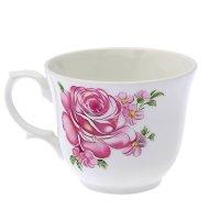 Чашка чайная 270 мл арина. розовые розы