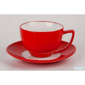 Кофейная пара вехтерсбах красная на 1 персон