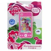 Телефон  музыкальный my little pony 5 песен из м/ф tt837-mlp